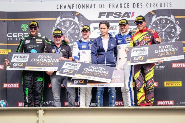 More success for Audi in the GT4 category in France
