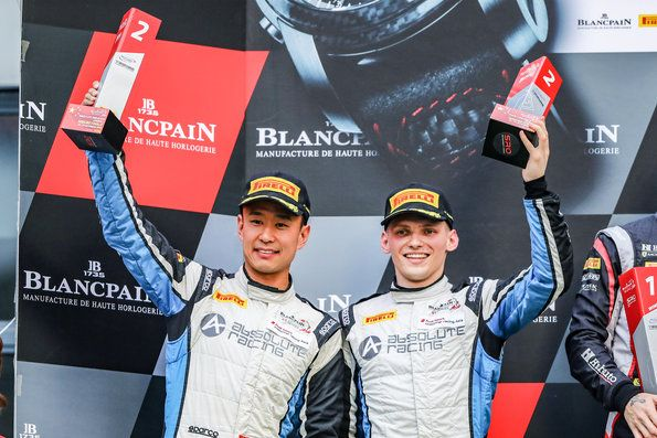 Two second places in Blancpain GT Series Asia finale