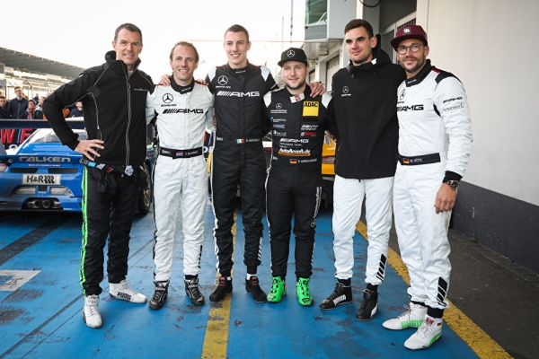 Second and third place for Mercedes-AMG Motorsport in VLN season finale