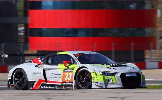 Isaac Tutumlu returns to Barcelona 24 hours with Audi