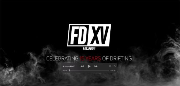 Formula Drift presents its anniversary video series : FDXV - 15 years of drifting