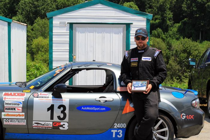 Simon Tibbett overall winner in SARRC Series races at Road Atlanta