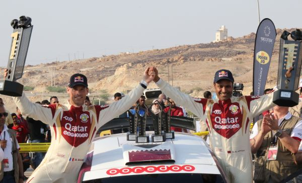 Al-Attiyah looks to equal Ben Sulayem's record of 14 MERC title wins with victory in Kuwait