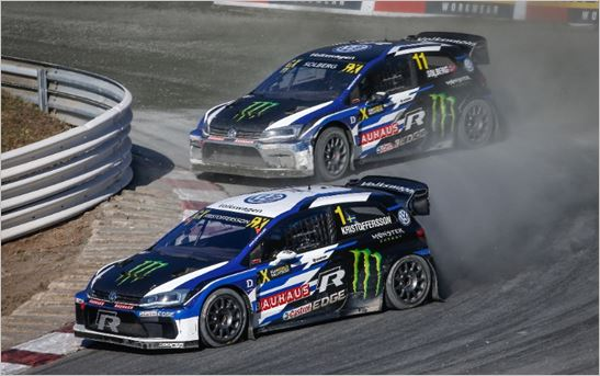 PSRX Volkswagen Sweden claim World RX Teams Title in Germany