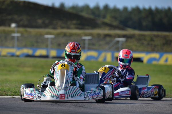 Tony Kart in the top5 of the KIA Karting World Championship for OK class in Sweden