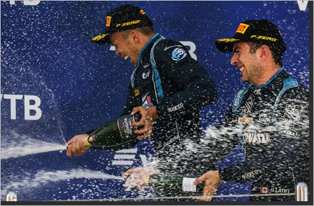 Stunning one-two finish for DAMS in Russia