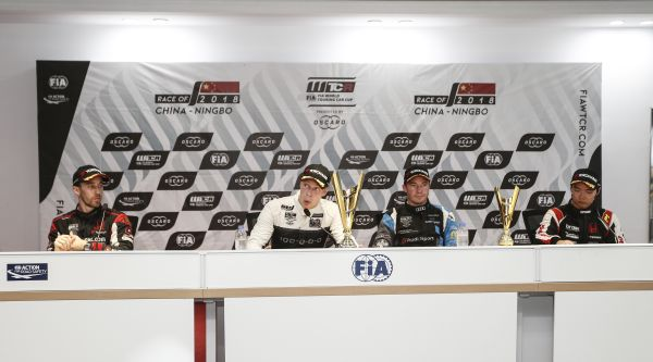 FIA WTCR Race of China Ningbo race 1 press conference