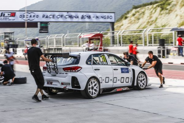 Thed Björk blasts to second China Ningbo WTCR pole