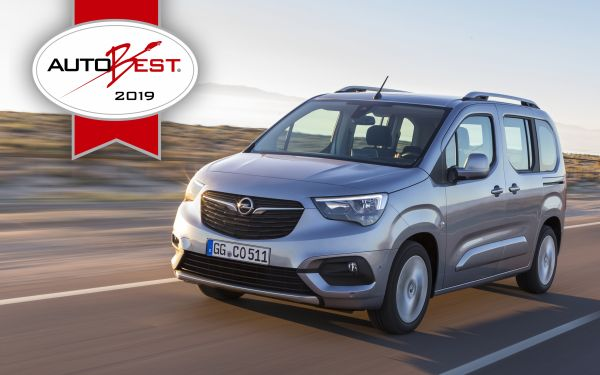"AUTOBEST: Opel Combo Life is ""Best Buy Car of Europe 2019"""