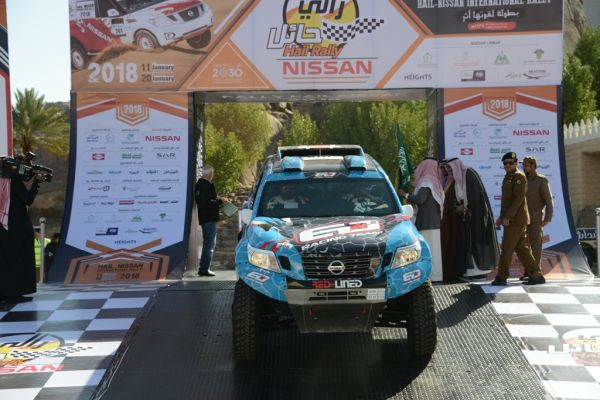 Essa Al-Dossari returns to defend his Ha'il International Rally title