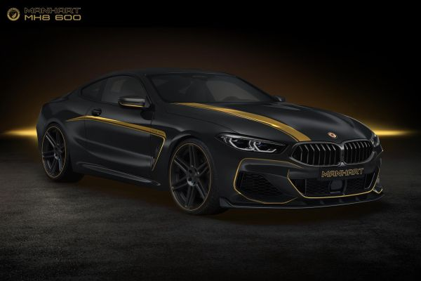 MH8 600: MANHART customizes and enhances the power of the new BMW M850i