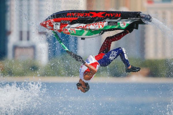 UIM ABP Aquabike Sharjah results and standings