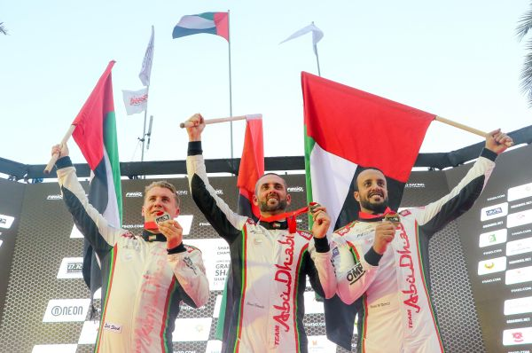 UIM F1H2O Grand Prix of Sharjah results and overall standings