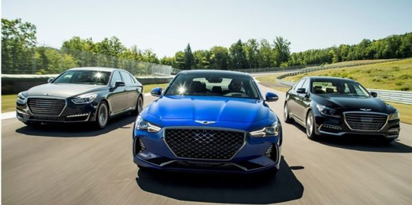 Genesis lineup, including all new G70, earn 2019 IIHS Top Safety Pick+ Awards