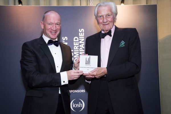 Mike Flewitt collects prestigious Inspirational Leadership Award...