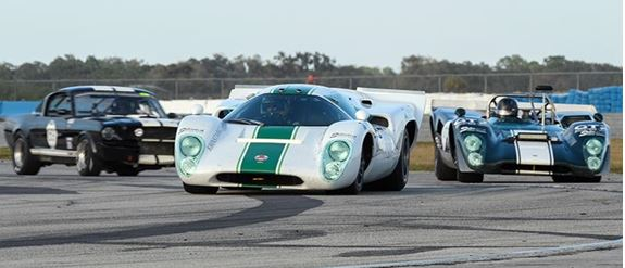 HSR Classic Sebring 12 Hour Reaches Halfway Point