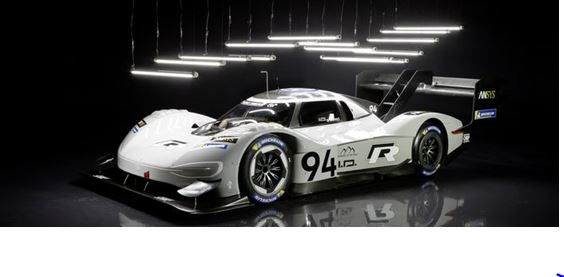 "Volkswagen ID. R crowned ""Race Car of the Year"" twice"