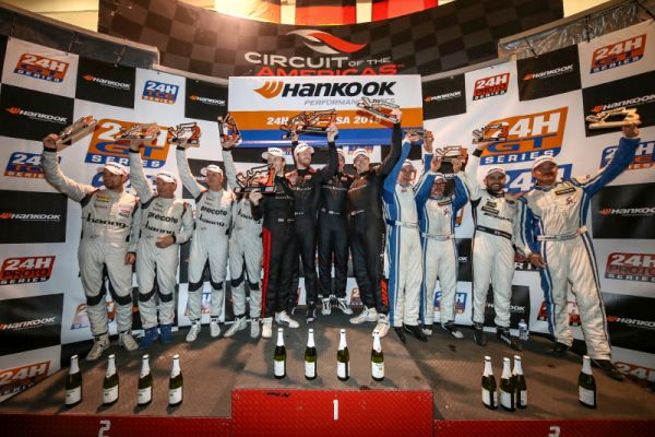 Black Falcon takes 24H COTA USA win, PROsport secures championship