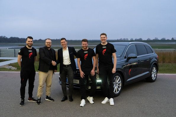 Audi becomes cooperation partner of esports teams