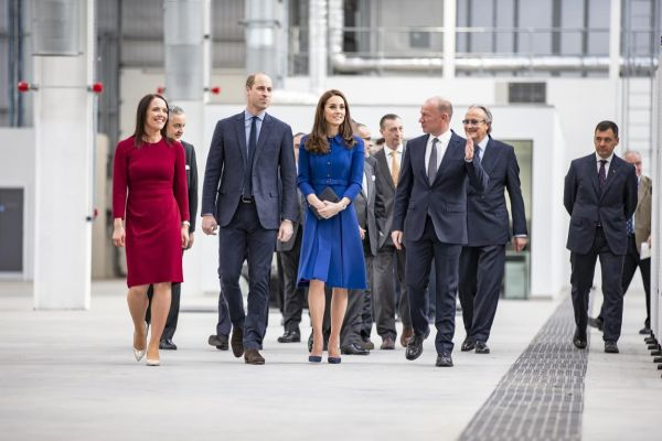 Royal opening for McLaren Automotive's new £50M carbon fibre innovation and production centre