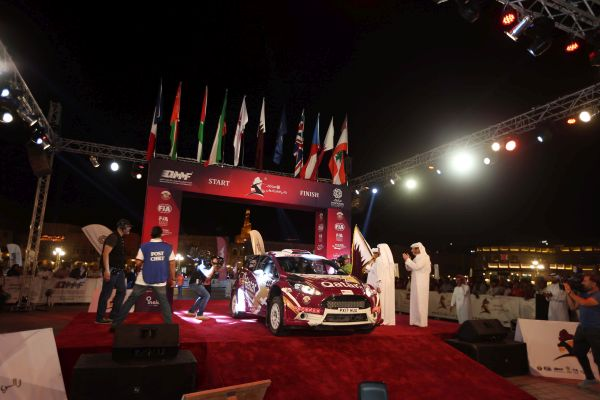 Spectacular Souq Waqif send-off for Manateq International Rally of Qatar -photos