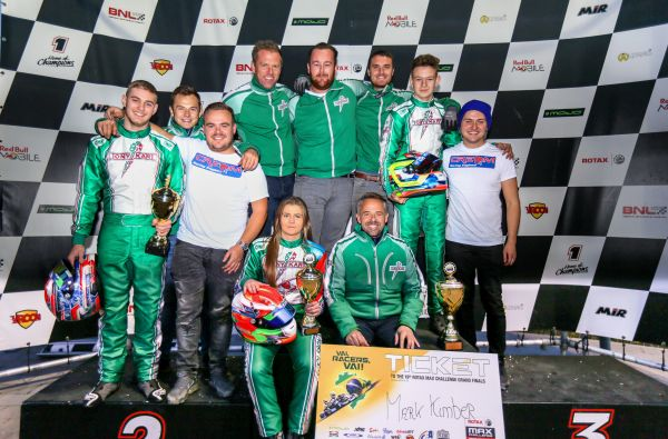 Strawberry Racing showing topform with podium sweep at Golden Trophy in Genk