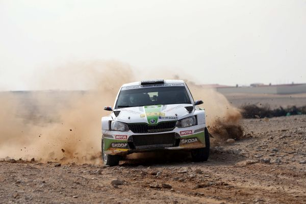 Vojtech Staf becomes first non-Arab winner of Manateq International Rally of Qatar since 1986
