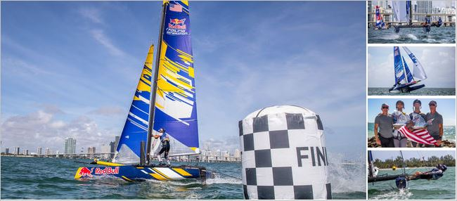 Red Bull Foiling Generation line-up set for World Final in Miami