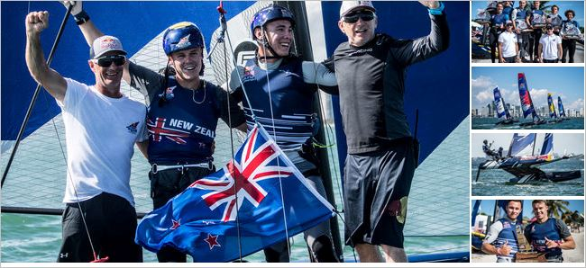 Kiwis bank second Red Bull Foiling Generation title in sunny Florida.