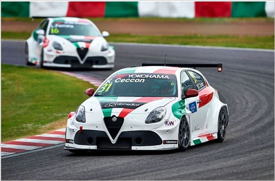 The Alfa Romeo Giulietta TCR by Romeo Ferraris to Macau for the FIA WTCR grand finale