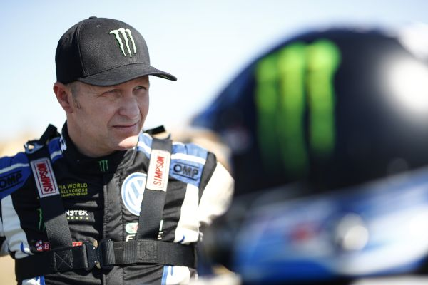 "Gymkhana Grid -  Kristoffersson and Solberg at ""drift summit"""