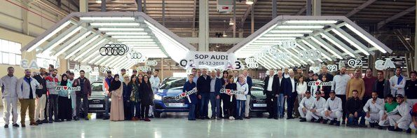 Audi gives starting signal for production in Algeria