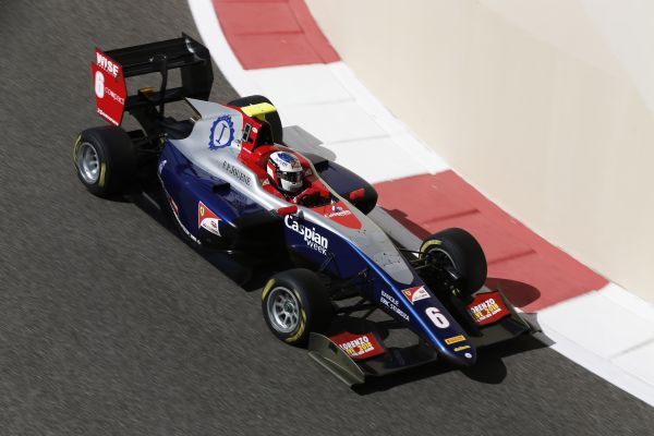Alesi leads the way in Abu Dhabi in GP3 practice