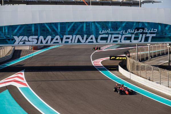 Nikita Mazepin storms to Abu Dhabi GP3 pole
