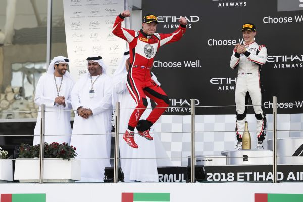 Nikita Mazepin flies to final GP3 victory in Abu Dhabi