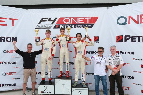 Formula 4 South East Asia Sepang races results and standings