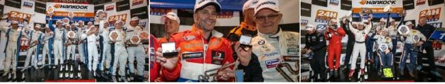 Champions crowned at the Hankook 24H COTA USA