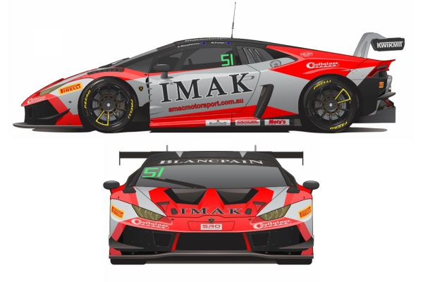 AMAC's Macpherson and Porter return with Lamborghini Huracan GT3 Evo