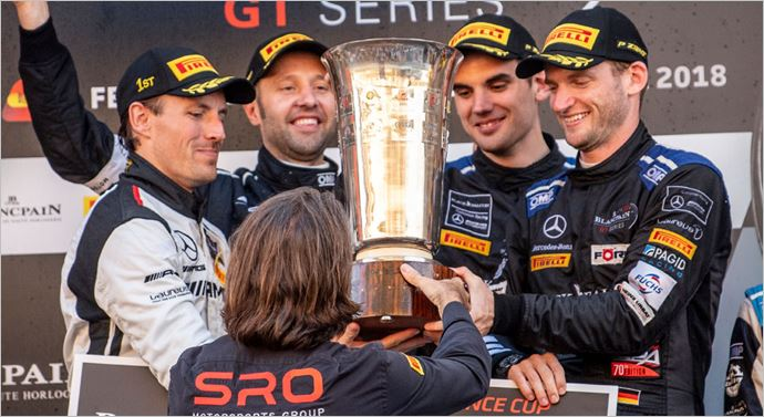 BLACK FALCON wins Endurance Cup of the Blancpain GT Series