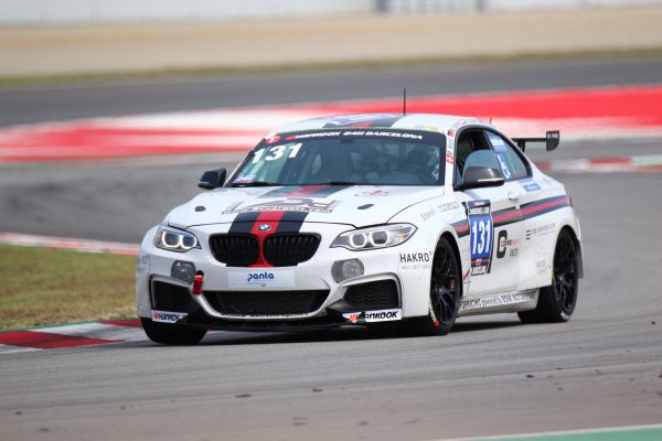 Bonk motorsport mit BMW M235i Racing beim 24h Cota USA