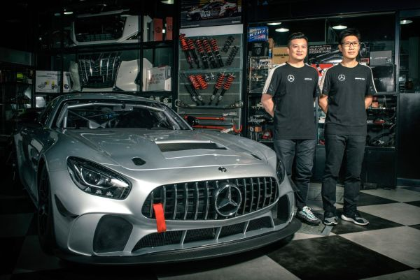 Fong, Lee and GTO Racing with TTR confirm GT4 Asia entry with Mercedes-AMG