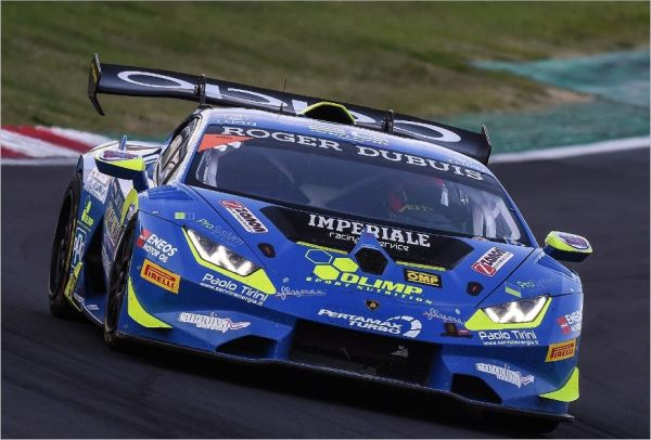 Imperiale Racing ends the Lamborghini Super Trofeo Europe 2018 in second place