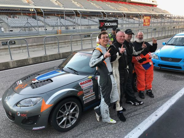 COTA World Racing League, Casey Carden Motorsports race review