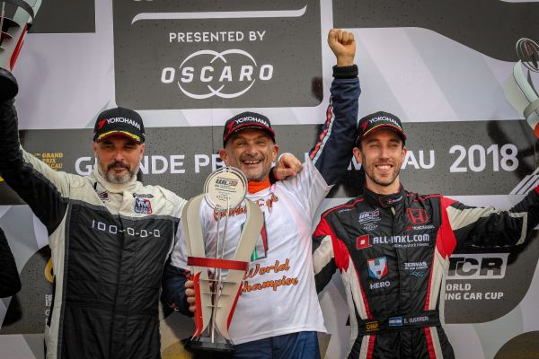 Gabriele Tarquini beats Yvan Muller by three points