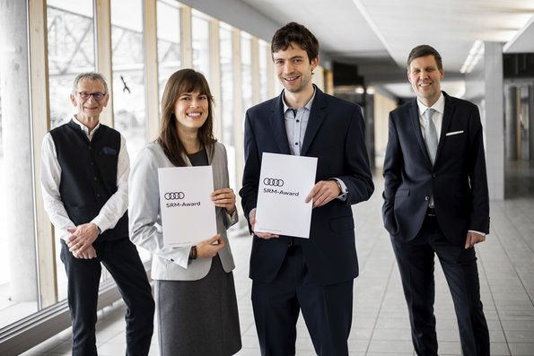 Audi Environmental Foundation presents awards to young researchers