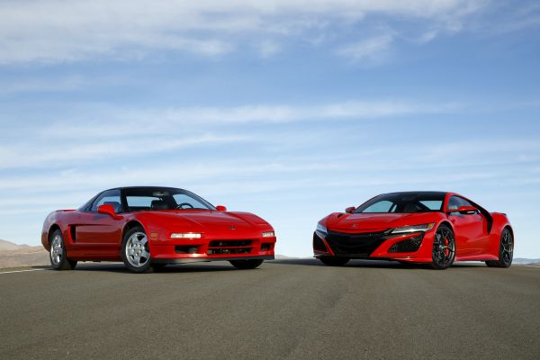 Acura Marks 30 Years Since Debut of Iconic NSX Supercar