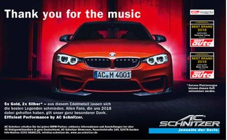 AC Schnitzer is the best BMW tuner