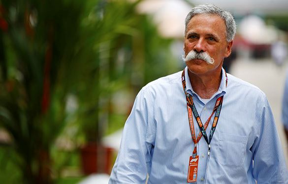 Formula 1® Chairman and CEO Chase Carey Named Honorary Chairman of 2019 Motorsports Hall of Fame of America