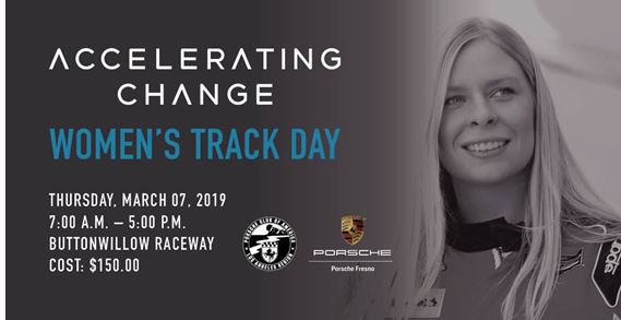 Accelerating Change Launches All Female Track Day powered by Porsche Fresno and Porsche Club LA