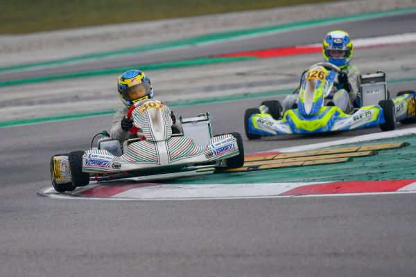 Rain conditions don't stop Tony Kart drivers in Adria